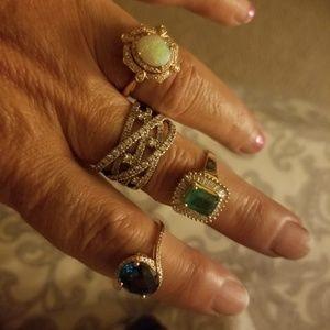 14 Jewelry - 4 beautiful rings for my gal classywife trade